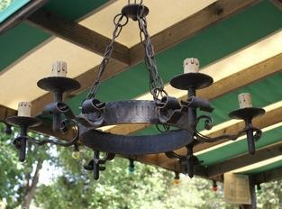 Kroonluchters & Lampen (en lampenkappen)